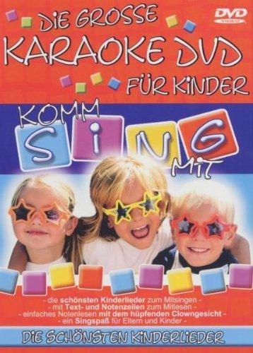 Dvd Kinder Karaoke (Komm sing mit - Die große Karaoke DVD für Kinder)