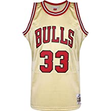 ... Talla UK 8 - 14. Mitchell   Ness NBA Chicago Bulls Scottie Pippen 33  1997-98 Retro Jersey Swingman Oficial 24485c773bd