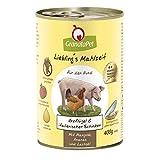 Liebling's Mahlzeit Nassfutter Geflügel & Italienischer Schinken, 6er Pack (6 x 400 g)