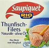 Produkt-Bild: Saupiquet Thunfisch - filet Naturale ohne Öl, 16er Pack (16 x 185 g)
