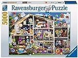 Ravensburger Erwachsenenpuzzle 17434 Gelini Puppenhaus, 5000 Teile Puzzle, Mehrfarbig
