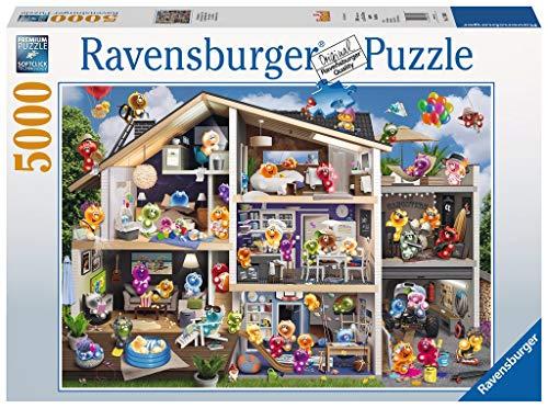 Ravensburger 17434 Gelini Puppenhaus, 5000 Teile Puzzle, Mehrfarbig