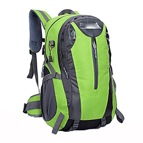 40L Outdoor Bergsteigen Rucksack Paket Reise Mode Tasche,Blue Green