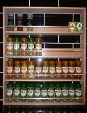Solid Beech Gewürzregal mit 4Etagen bis zu 44Jar Kapazität