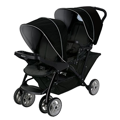 Graco Stadium Duo Click Connect - Silla de paseo, color gris / negro