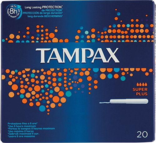 Tampax Tampons Plus with Applicator (20)