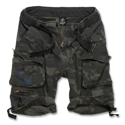 Brandit Savage Gladiator daUomo Cargo Pantaloncini Corti B-2001 - cotone, darkcamo, 100% cotone, Uomo, XL