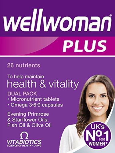 Vitabiotics Wellwoman Plus Omega- 3 6 9 56 Caps / Tabs, 59 g