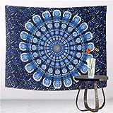 Djkaa 3D ngosi Ohia anụ ọhịa Wolf ụkpụrụ Polyester Tapestry Beach Blanket Room Divider Yoga Beach Fashion Tapestry