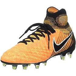 buy online 7ebc6 9a1f7 Nike Jr. Magista Obra II FG, Scarpe da Calcio Unisex-Bambini, Arancione