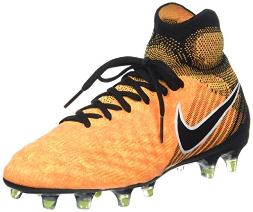 Nike Unisex-Kinder Jr Magista Obra II FG Fußballschuhe, Laser Orange/Black-White-Volt, 38 EU