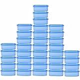SSD Microwaveable Space Saver 36pc - 600 ml Plastic Multi-purpose Storage Container (Blue)