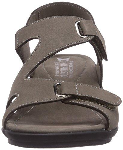 Mephisto - PARIS BUCKSOFT 6925 PEWTER, Sandali di moda da donna grigio (Pewter)