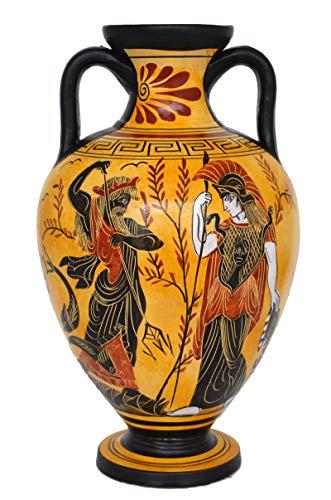 Talos Artemis Diana Göttin Athena und Poseidon Amphora-Vase -