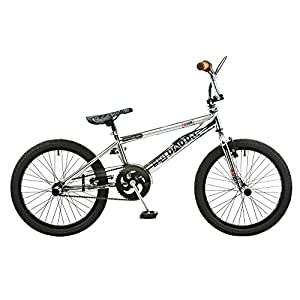 519yiWGSNqL. SS300  - Rooster Kids' Big Daddy Plated Bmx Bike, Chrome, 20-inch