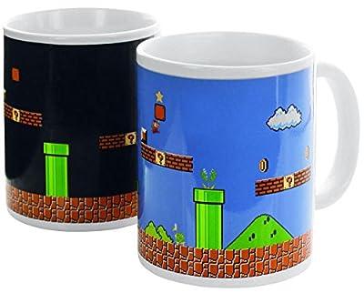 Super Mario Super Mario - Tasse mit Thermoeffekt Mug multicolore