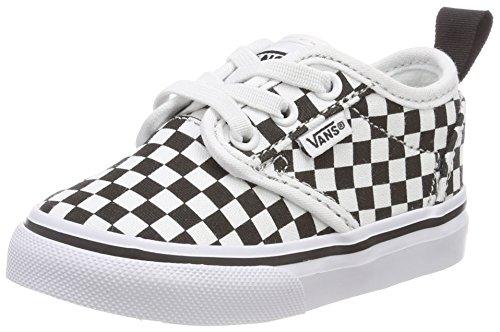 ood Slip-on Sneaker, Weiß (Checkerboard), 25 EU (Vans Slip-ons, Kinder)