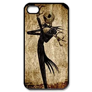 Custom Your Own Personalised The Nightmare before Christmas Iphone 4/4S Best Durable Hard Cover Case