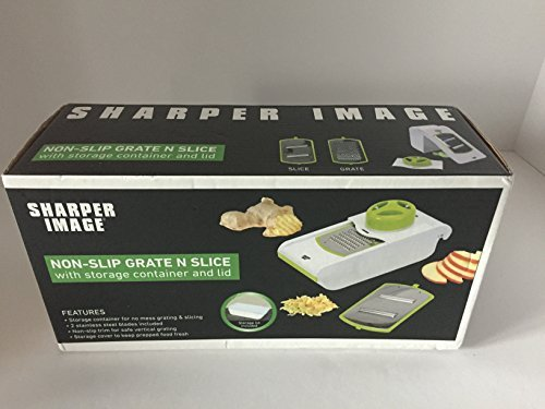 sharper-image-non-slip-grate-n-slice-with-storage-container-and-lid-by-sharp