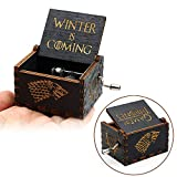 TKHCOLDM 36 Sailor Moon Spieluhr Game of Thrones Star Wars Sailor Moon Der Pate hölzerne Hand gekröpft unter dem Motto Birthday Music Gifts - M46