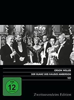 Der Glanz des Hauses Amberson. Zweitausendeins Edition Film 131