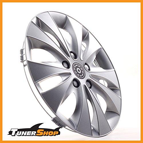13 Zoll Radkappen Radzierblenden Radblenden Hyundai Stahlfelgen #2432167 silber Winter Sommer