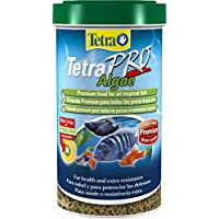 Tetra Pro Algae Fish Food, Premium Food for All Tropical Fish with Algae Concentrate to Improve Resistance, 500 ml