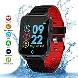 Qimaoo Montre Connectée X9 Smartwatch Femmes Homme Montre Sport Cardio Fitness...