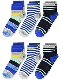 s.Oliver Socks Calcetines, (Pack de 6) para Niños