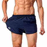 NAVISKIN Pantaloncini Uomo da Corsa, Pantaloncini Atletica per Correre Leggero da Stare Fresco,...