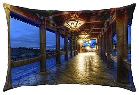 iRocket - Kyoto At Night - Throw Pillow Cover (16