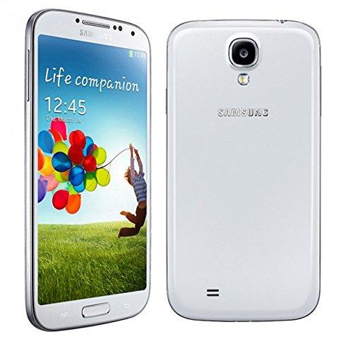 Samsung Galaxy S4 Smartphone (12,7 cm (5 Zoll) Super AMOLED-Touchscreen, 16 GB interner Speicher, 13 Megapixel-Kamera, LTE, Android 4.4) weiß (Zertifiziert und Generalüberholt)