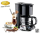 Camp4 Kaffeemaschine 4-6 Tassen - 12 Volt - Filterkaffeemaschine / Coffe Maker / PKW / Wohnmobil