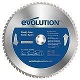 Evolution 66T TCT Raptor - Cuchilla circular para acero (355mm)