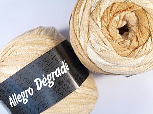 Allegro degradé degradé degradé 210 – Ivoire/jaune marron/Miel/marron beige/ocre B071KBQ9BG | Sélection Large  b3b8c7