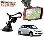 There have been times, when due to lack of proper care, your mobile have slipped on the ground, while you were driving the car. You can easily bid farewell to such incidents if you welcome to your car the EcellStreet 360' Degree Rotating Car Mount Ho...