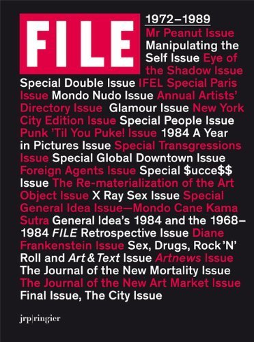 General Idea: FILE Megazine by JRP|Ringier (2008-04-01)