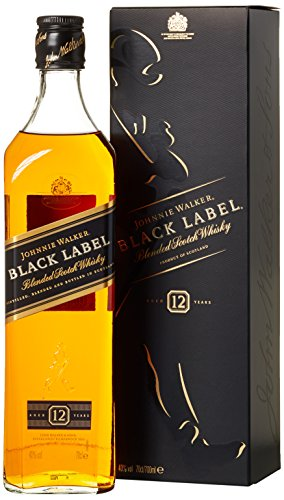 Johnnie Walker Black Label Blended Scotch Whisky (1 x 0.7 l)
