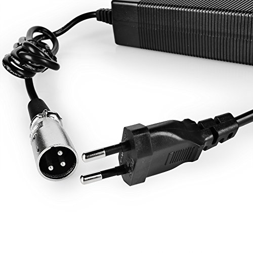 AFTERPARTZ 36V 2A Electric Bike e-bike Battery Charger 3-Pin XLR3 E-BikeCertification