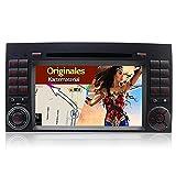 A-Sure 7 zoll 2Din Doppel Autoradio DVD GPS Bluetooth VMCD iPod Raido RDS Für Mercedes Benz VITO VIANO A B Class SPRINTER W169 W245 original Kartematerial (49 europäische Länder)W5BABQ 2-Jahre-Garantie