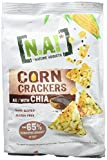 NA! Sachet de Corn Crackers Chia BIO 50 g - Lot de 4