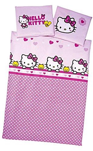 Herding Baby- Bettwäsche 100 cm x 135 cm (Hello Kitty)