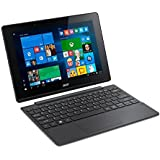 Acer Aspire Switch 10 E SW3-016, 10.1 inch IPS Touchscreen Detachable 2-in-1 Laptop (Intel Atom X5-Z8300 Quad-Core, 2 GB RAM, 32 GB Storage, WLAN, BT, Windows 10) - Grey