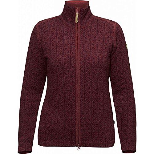 Fjällräven Övik Frost Cardigan Jacket Women - Strick Fleecejacke