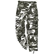 Mil-Tec BDU Ranger Combate Pantalones Urban tamaño L