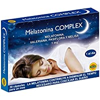 Robis Melatonina Complex Complemento Alimenticio Natural - 30 Cápsulas