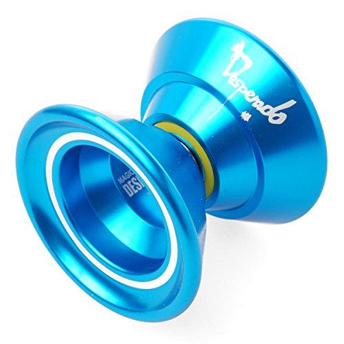 Preisvergleich Produktbild XCSOURCE® Original Magie YoYo N5 Aluminium-Profi Yo-Yo Spielzeug + 5 x Streicher + Handschuh TH006