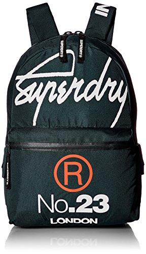 Superdry Herren Men's International Montana Backpack Rucksack, grün, Einheitsgröße