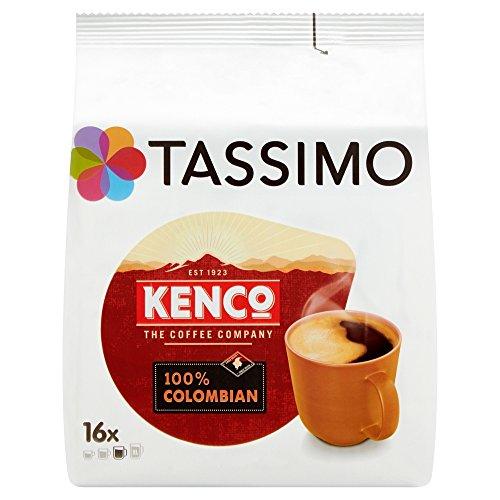 Tassimo Kenco Pure Colombian, Kaffee, Kaffeekapsel, gemahlener Röstkaffee, 80 T-Discs