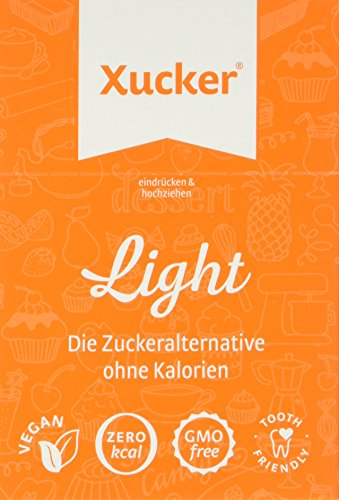 Xucker 50 Erythrit-Sticks als Zuckeralternative, 5er Pack (5 x 250 g)